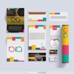 Logo, materiały firmowe, papier firmowy, wizytówki