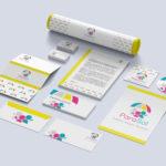 identyfikacja wizualna, marka, logo, wizytówki, papier firmowy, gadżety